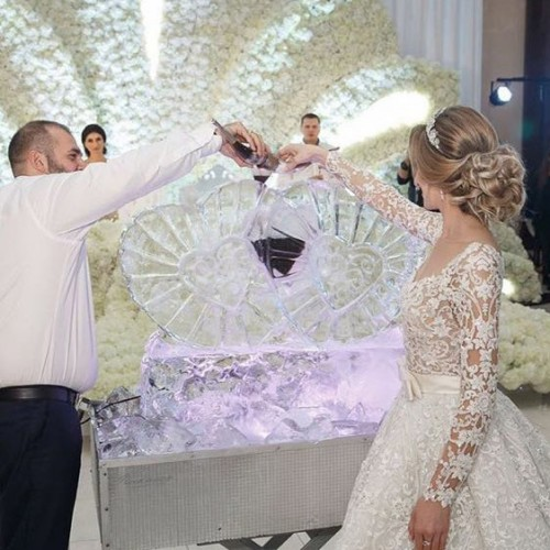 Свадебное шоу с заливкой