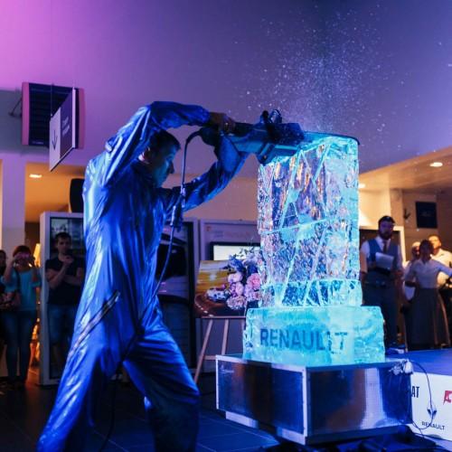 Шоу ледяных скульптур