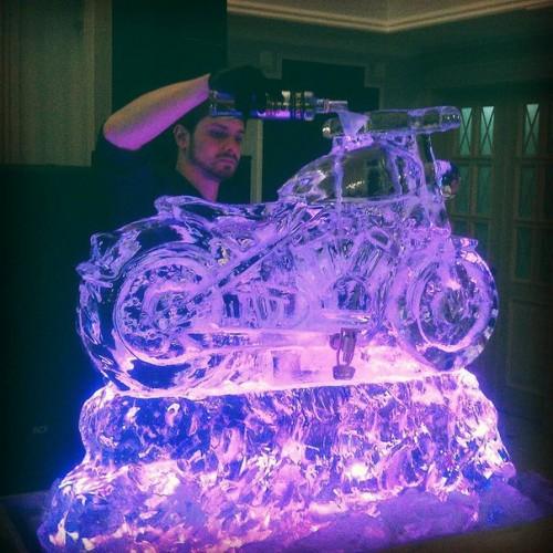 Ледяные скульптуры для фуршета