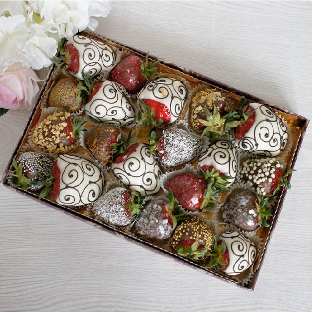 """Набор фруктов в шоколаде """"Ассорти Премиум"""""""