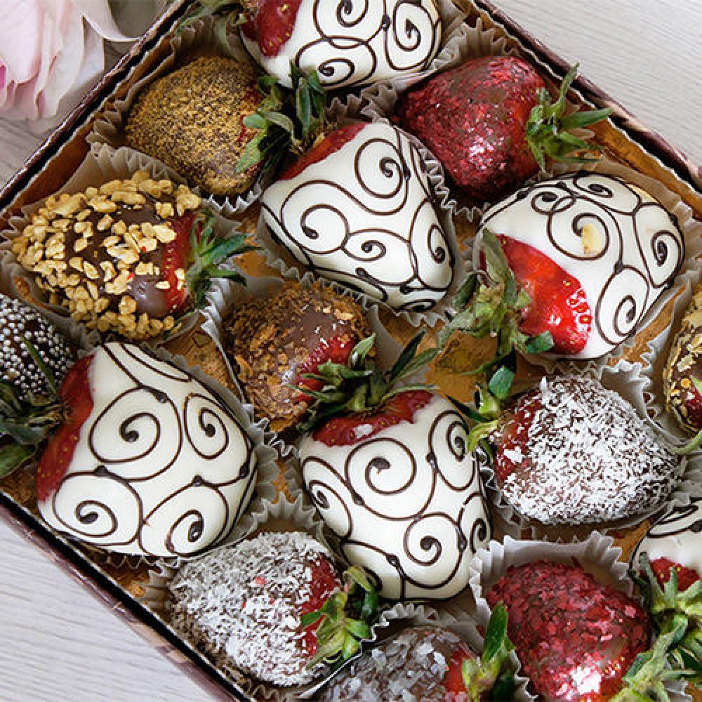 """Набор фруктов в шоколаде """"Ассорти"""""""