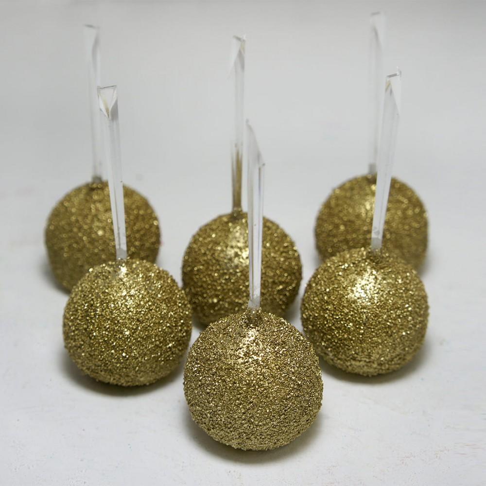 Кейк-попс (золотой)