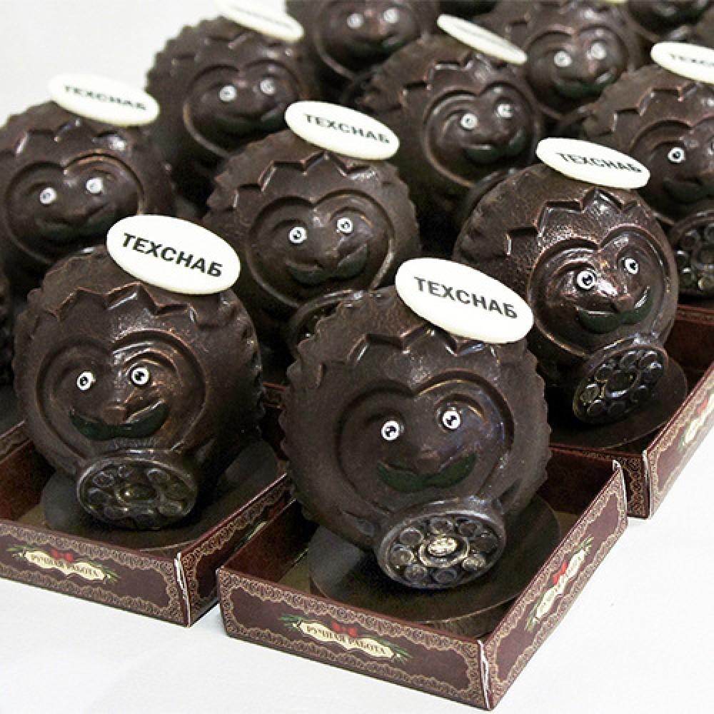 Фигура шоколадная с логотипом