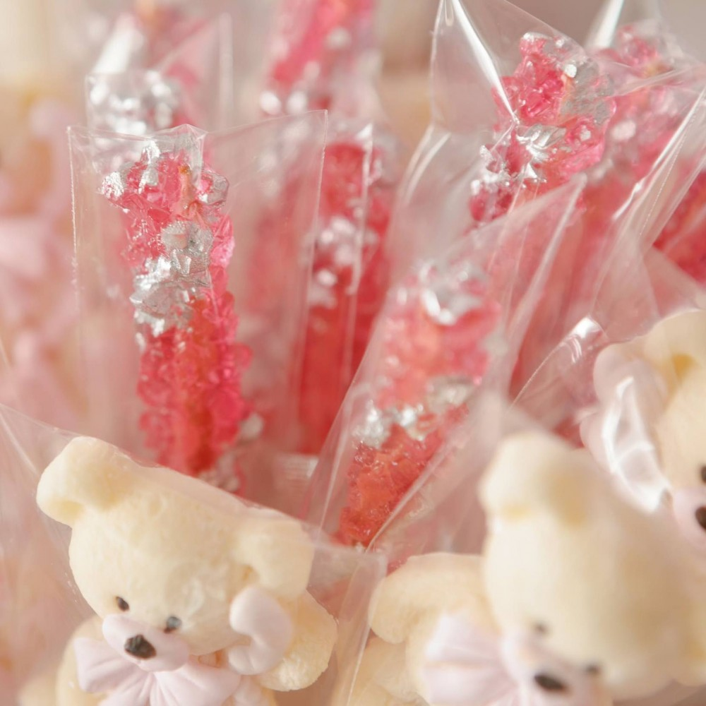 Сахарные кристаллы на палочке