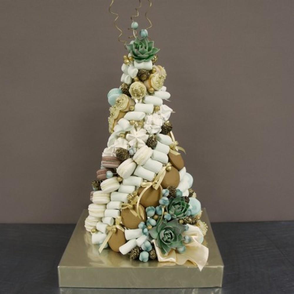 Пирамида сладостей ассорти №2